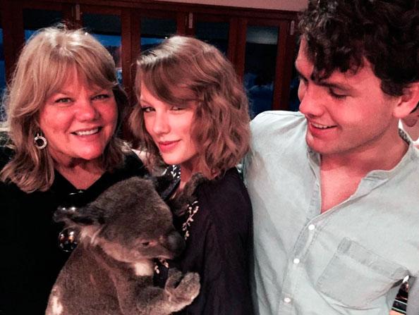 Surpreendente! Taylor Swift posta foto sem maquiagem .