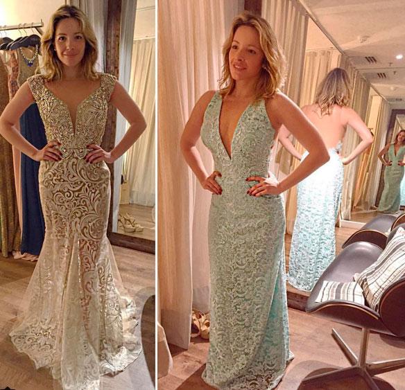 Renata Dominguez escolhe look para ser madrinha de famosa