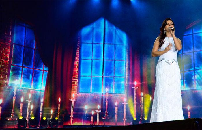 Aline Barros sobre novo CD e DVD: 'Trabalho grandioso'