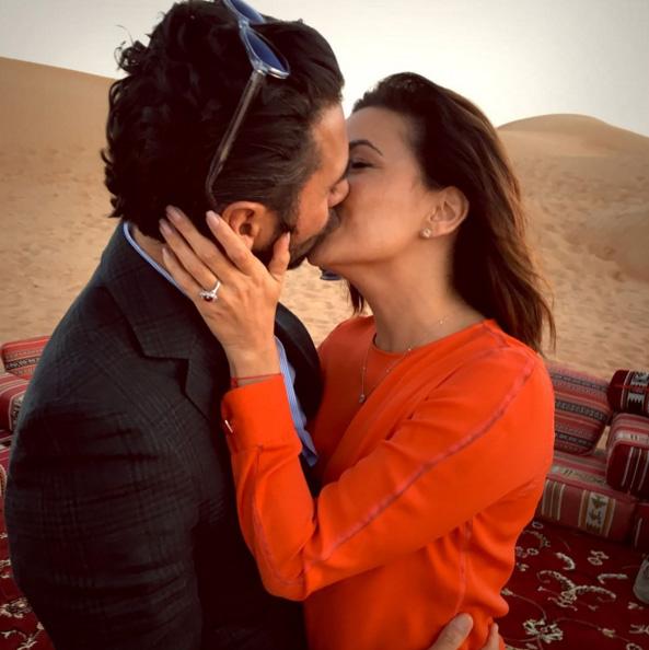 Eva Longoria foi pedida em casamento, em Dubai