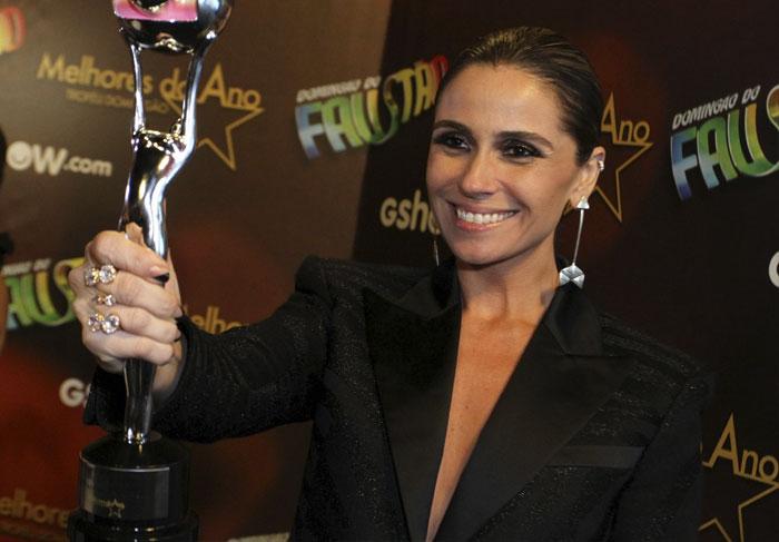 Domingão do Faustão, Melhores do ano: Giovanna Antonelli