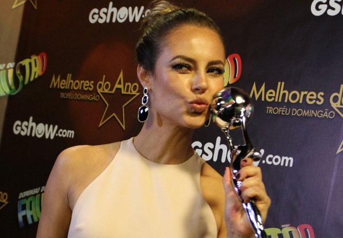Paolla Oliveira: 'Ganhar prêmio é o menos importante