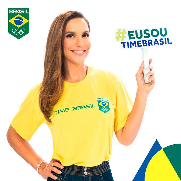 Ivete Sangalo é a nova madrinha do Time Brasil