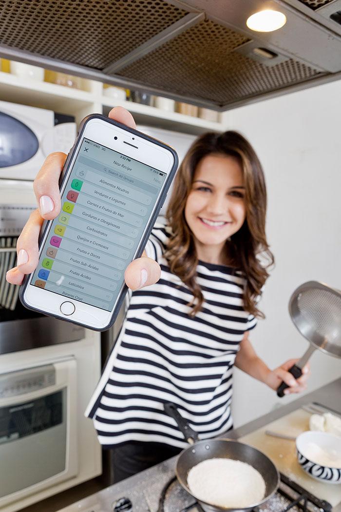 Kyra Gracie conta tudo sobre seu aplicativo de alimentação