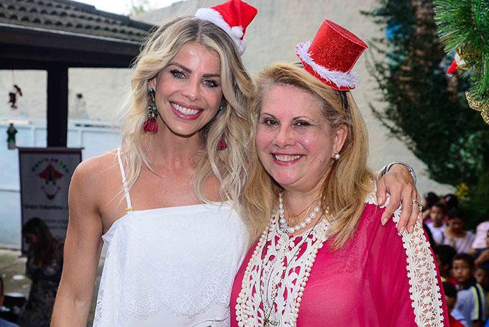 Karina Bacchi comanda festa da ONG Florescer