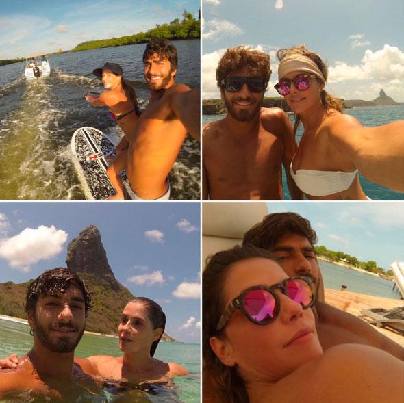 Deborah Secco relembra seus melhores momentos de 2015