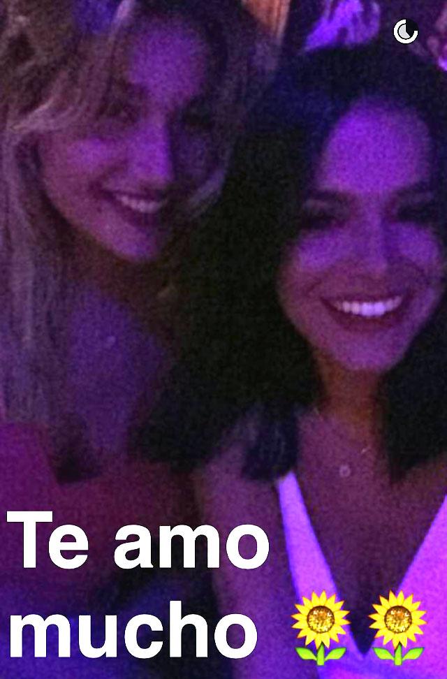 Que? Bruna Marquezine e Sasha encontram Kris Jenner