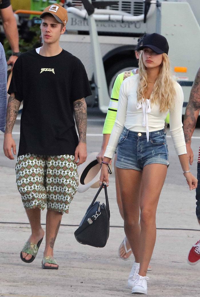Justin Bieber é visto novamente com possível nova namorada