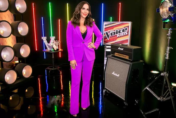 Ivete Sangalo no The Voice: 'Acham que só tenho terno roxo'