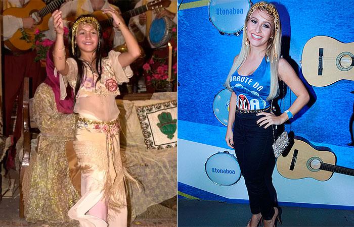 RJ: Carla Diaz revive personagem de O Clone na Sapucaí