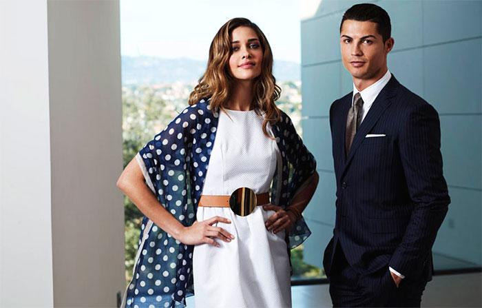 Ana Beatriz Barros brilha em campanha com Cristiano Ronaldo