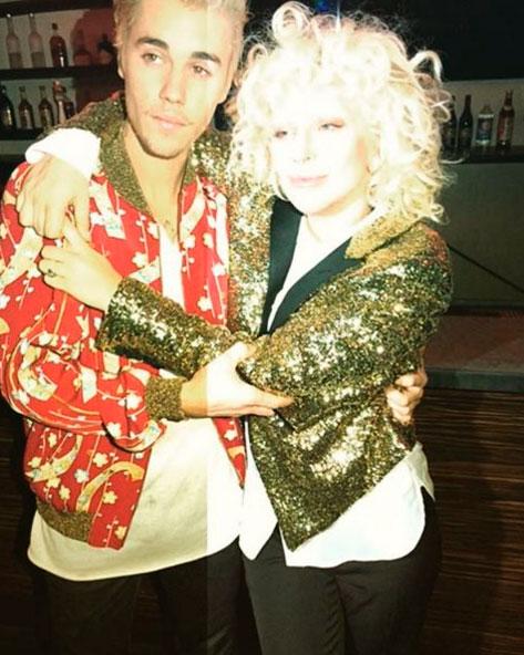 Que dupla! Lady Gaga e Justin Bieber esbanjam estilo juntos
