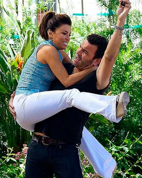 Eva Longoria atua com seu marido de Desperate Housewives