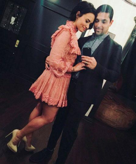 Demi Lovato faz declaração apaixonada para o namorado