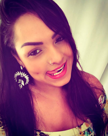Mulher Melancia esbanja sensualidade em selfie