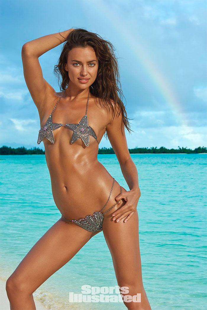 Deusa! Irina Shayk brilha em capa comemorativa de revista
