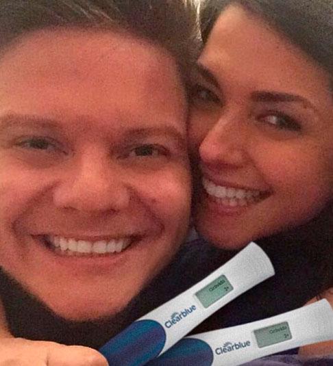 Papai e mamãe! Michel Teló e Thais Fersoza anunciam gravidez