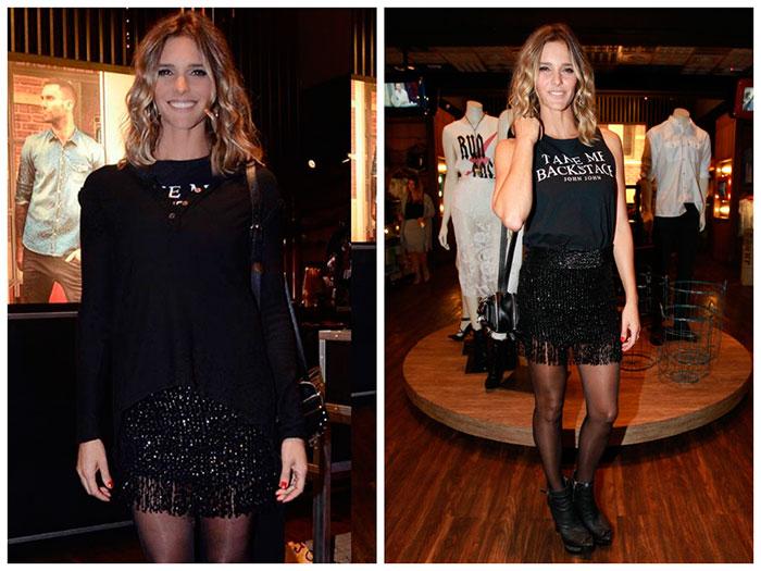Fernanda Lima arrasa com modelito todo preto. Confira!