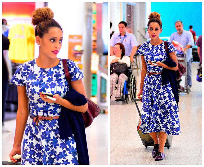 Moda: Famosas que amam looks floridos