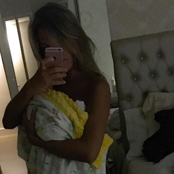 Veja quantos quilos Adriana Sant'Anna já perdeu após o parto