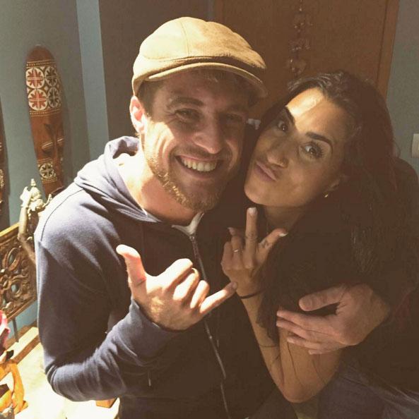 BBB16: Juliana Dias e Daniel Manzieri se reencontram