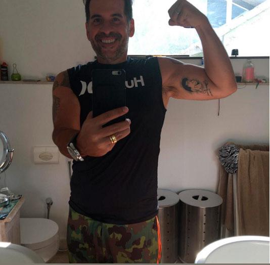 - Leandro Hassum mostra boa forma nas redes sociais