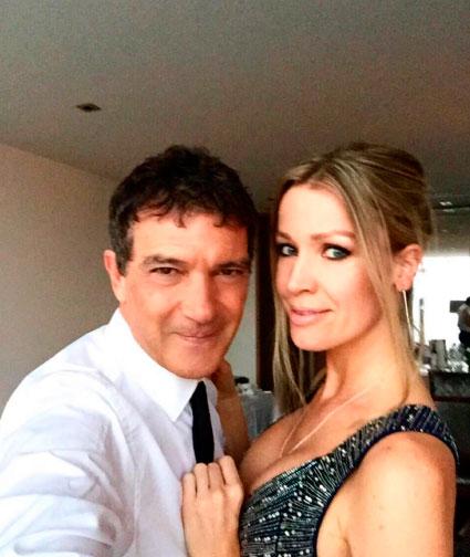 Antonio Banderas está feliz que sua namorada não seja atriz