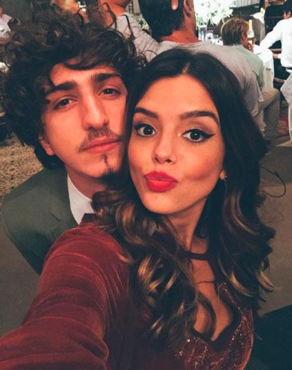 Giovanna Lancellotti se despede de novela com Johnny Massaro