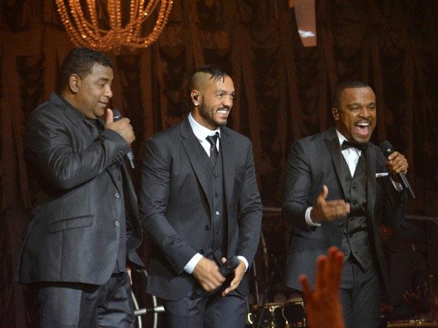 Luiz Carlos, Belo e Alexandre Pires agitam Recife com show