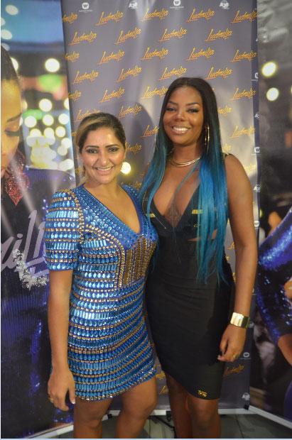 Ludmilla recebe famosos em show no Rio de Janeiro