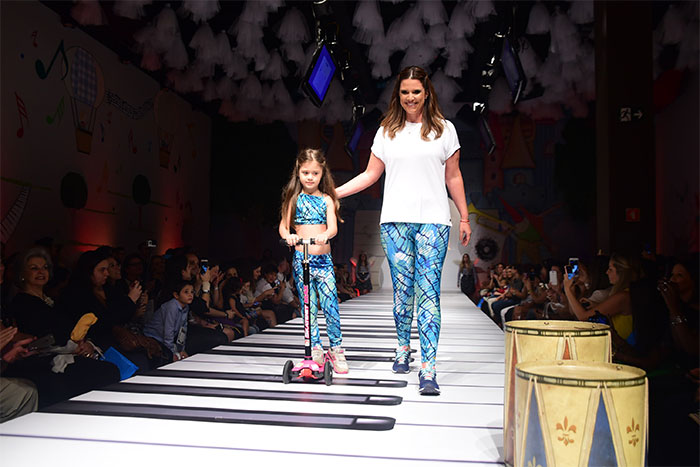 Junno Andrade e famosos participam do Fashion Weekend Kids