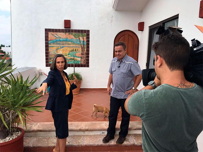 Florinda Meza revela problemas com drogas de 'Seu Madruga'