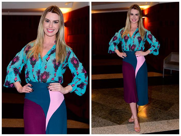 Fernanda Keulla usa look de R$ 1,7 mil