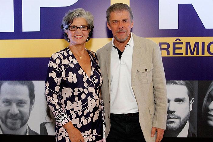 Marieta Severo e Renata Sorrat se encontram em prêmio