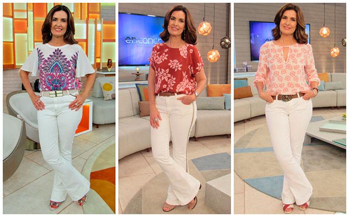 Famosas mostram como usar calças brancas sem preconceito
