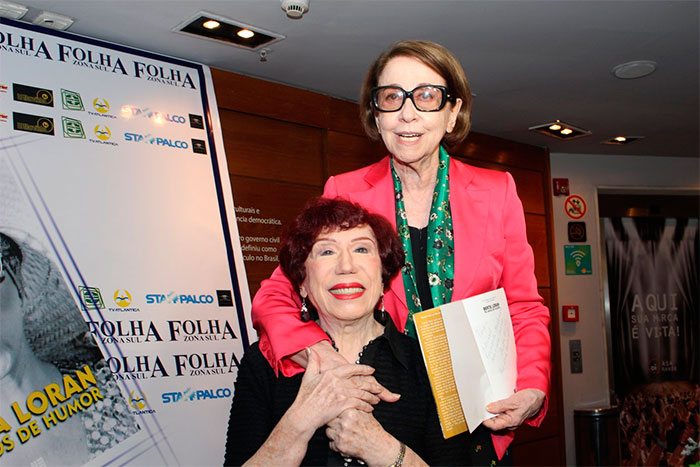 Fernanda Montenegro prestigia Berta Loran