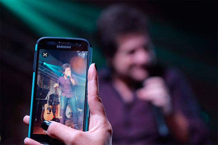 Cantor Daniel encerra sua turnê pelos Estados Unidos