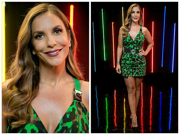 Ivete Sangalo usa vestido de R$ 9 mil  em programa de TV