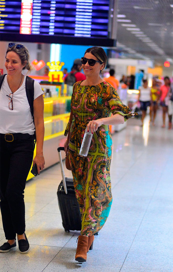 Giovanna Antonelli aposta na simpatia para deixar o Rio