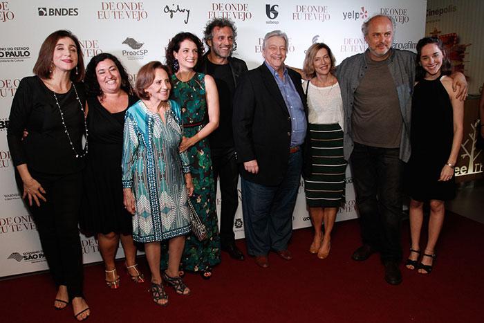 Domingos Montagner vai à estreia de novo filme em São Paulo