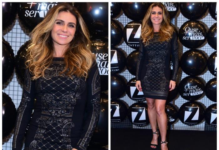 Giovanna Antonelli usa vestido que emagrece