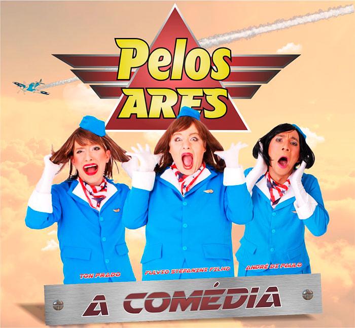 'Aeromoças' levam a platéia às gargalhadas. Entenda!