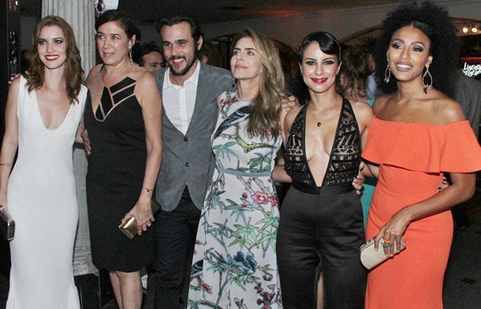 Sem Thiago Lacerda, elenco apresenta Liberdade, Liberdade