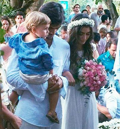 Veja fotos e vídeos do casamento de Felipe Simas