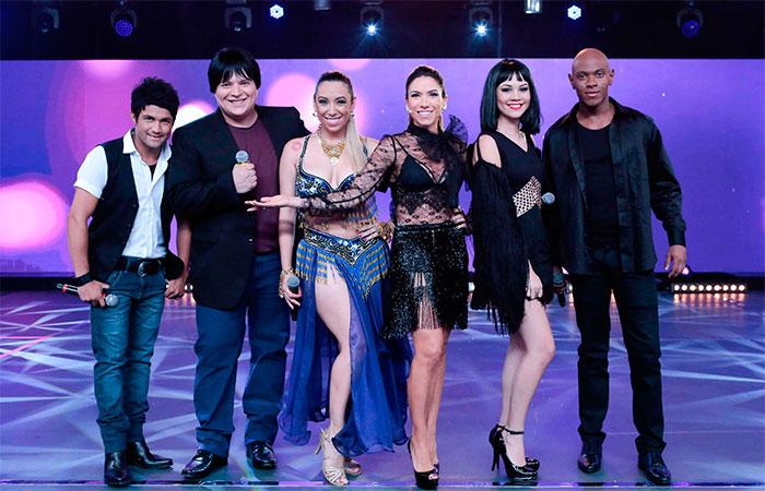 Patrícia Abravanel recebe cover de Zezé di Camargo