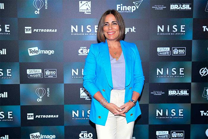 Glória Pires participa de coletiva para divulgar novo filme