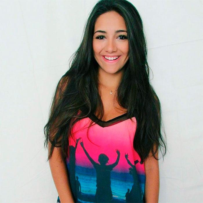 Jovem atriz vibra ao fazer participação em Malhação. Veja!