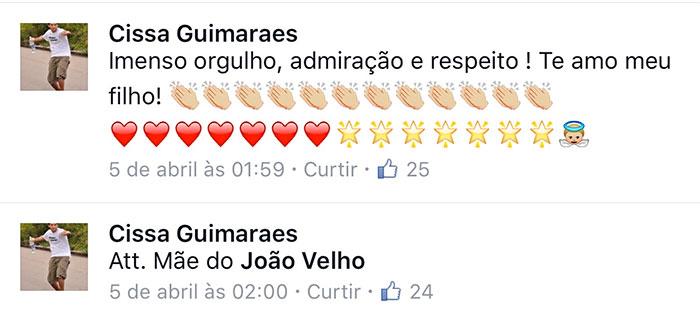 João Velho procura emprego pelo Facebook