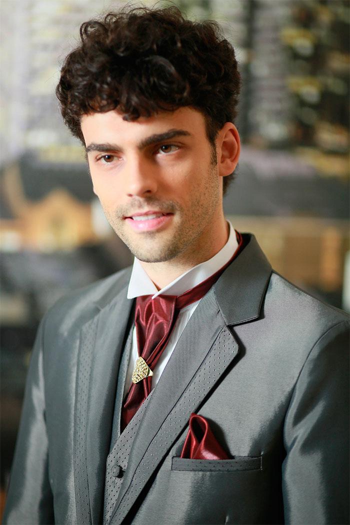 Rodrigo Dorado vira noivo em ensaio fotográfico