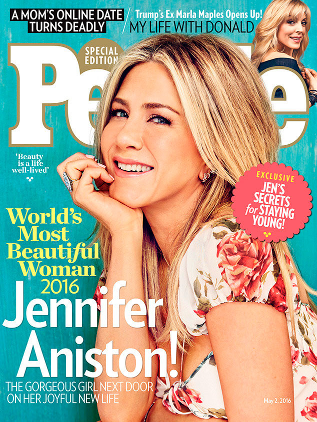 Aos 47, Jennifer Aniston é eleita a mais bonita do mundo